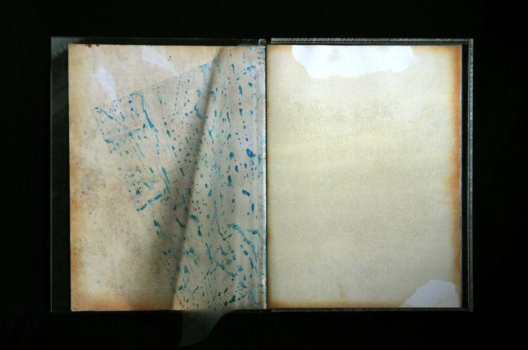 Artist book painting transparan - giellouws | ello