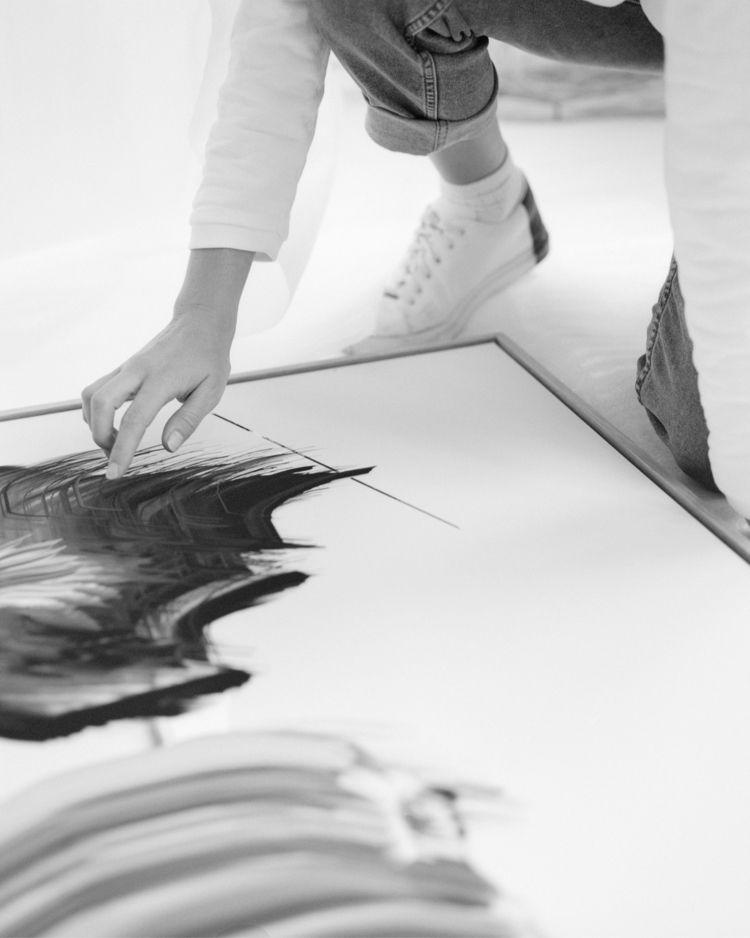 Unpacking artworks studio, shot - louisemertens | ello