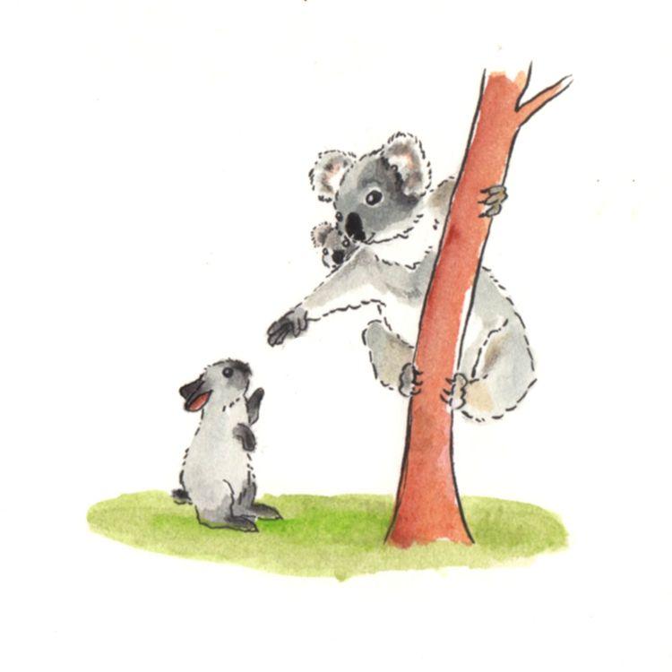 Day 15 Inktober - Koala born ko - j0eyg1rl | ello