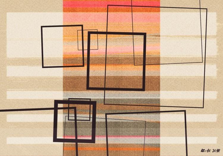 composition-88 - art, contemporary - gangoflosers | ello