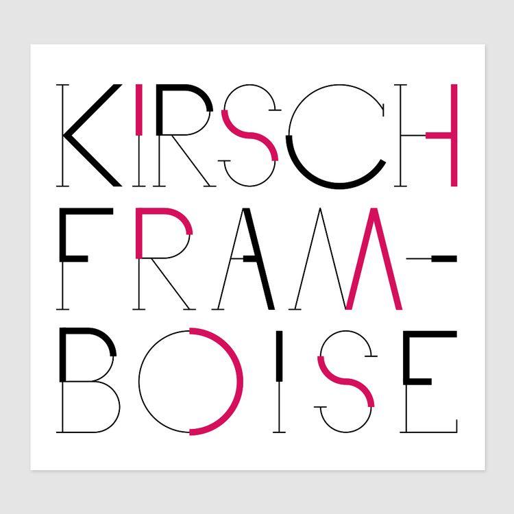 Kirsch framboise / Family bottl - julmeme | ello
