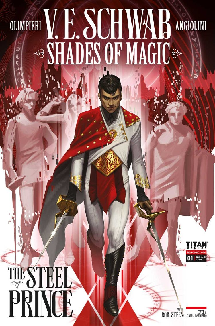 Shades Magic: Steel Prince Trai - comicbuzz   ello