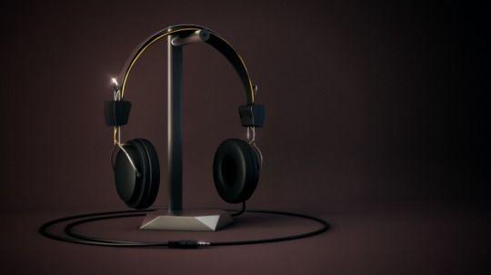 Headphones 3d model - c4ddownload | ello