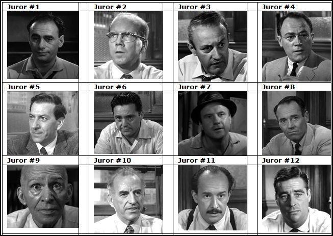 12 Homens uma Sentença Jurado n - hqscomcafe | ello