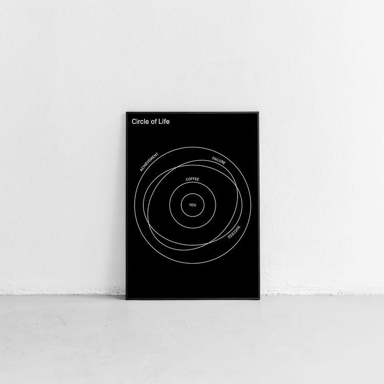 → Circle Life PRINT  - design, poster - horaciolorente | ello