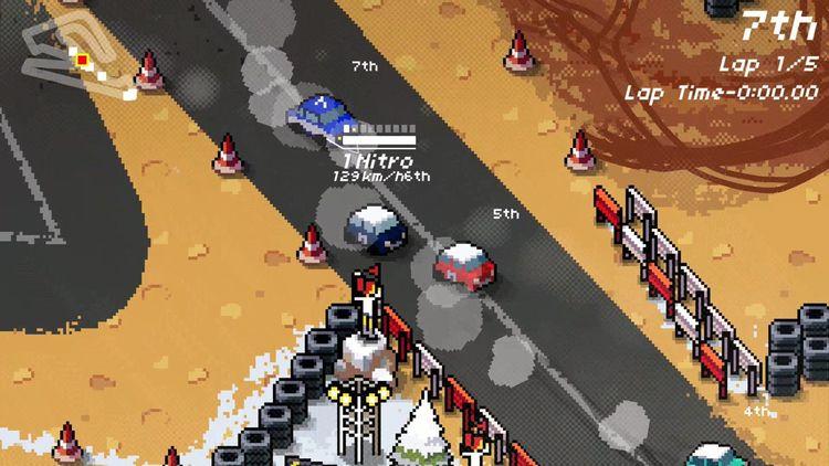 Super Pixel Racers - Announceme - comicbuzz   ello