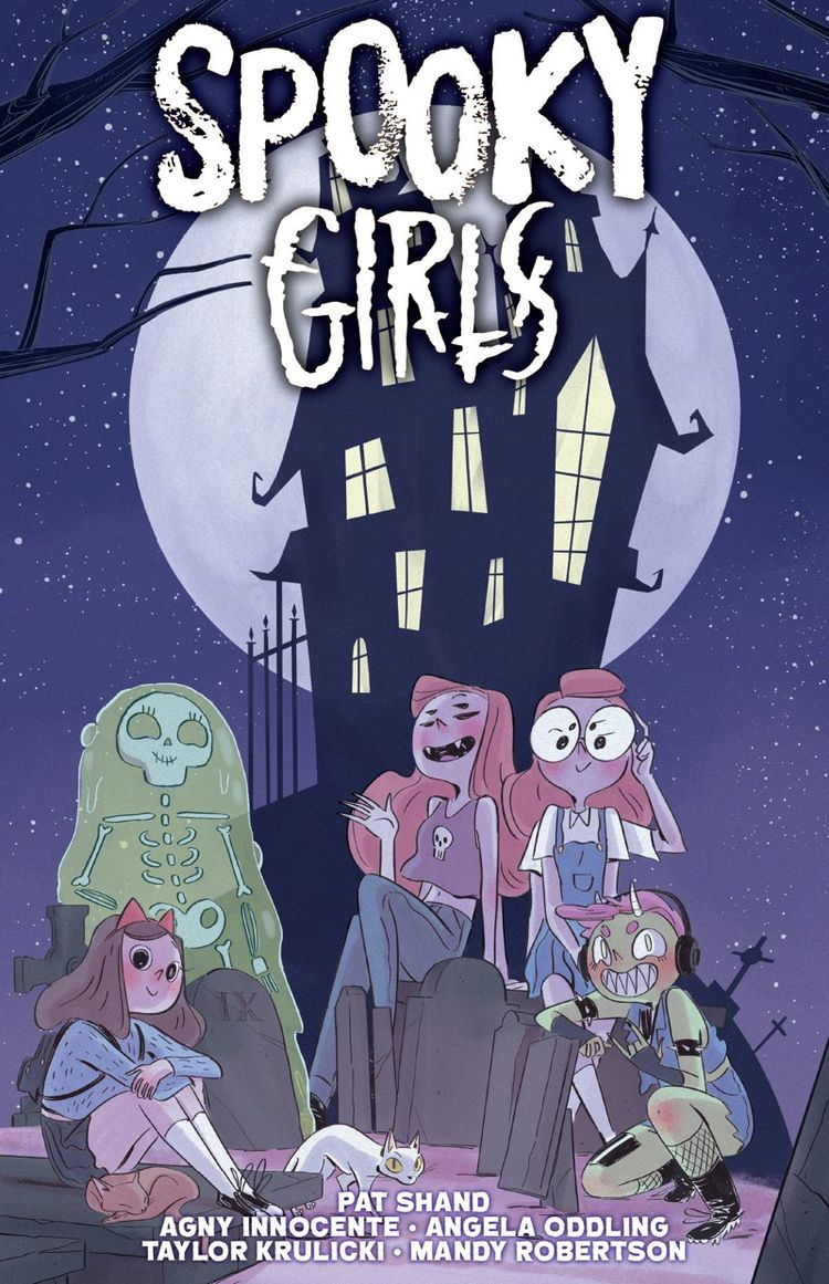 Spooky Girls Launched Kickstart - comicbuzz   ello