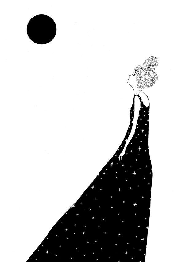 Stars - illustration, poster, digitalillustration - spoto | ello