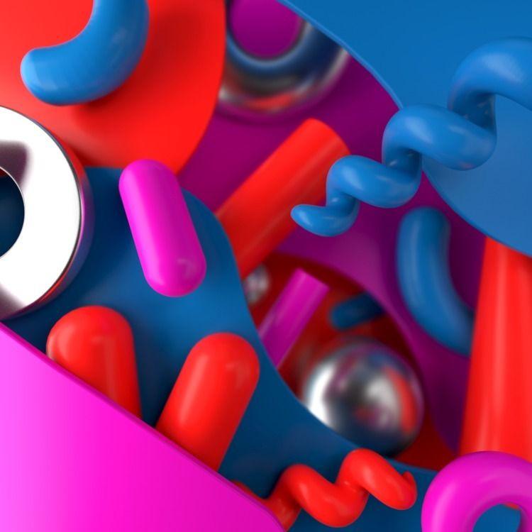 094 - AbstractShiz, cinema4d, design - hashmukh | ello