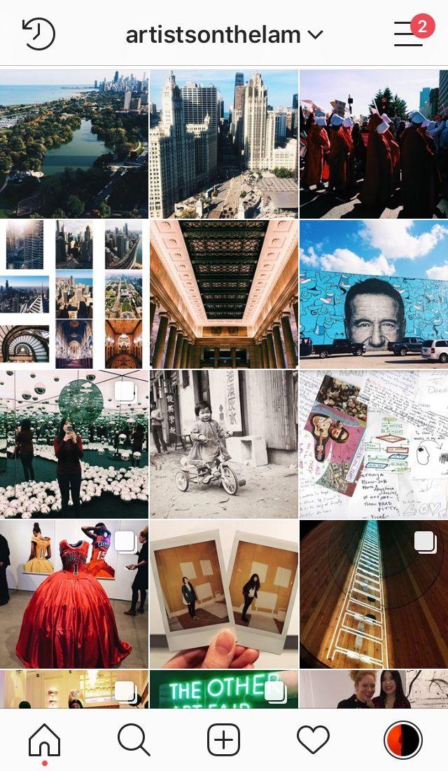 Reminder: Instagram artistsonth - jenny-lam | ello