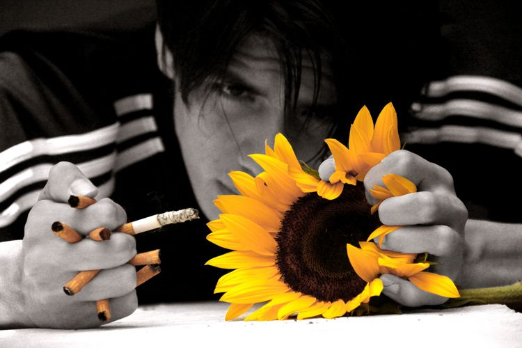 salva la vida busques muerte - cigar - verdesepia | ello
