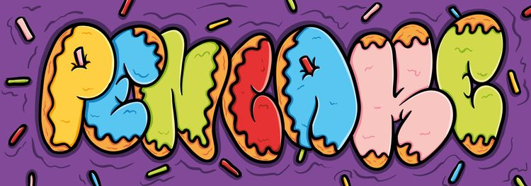 Sticker Artwork - pencake   ello