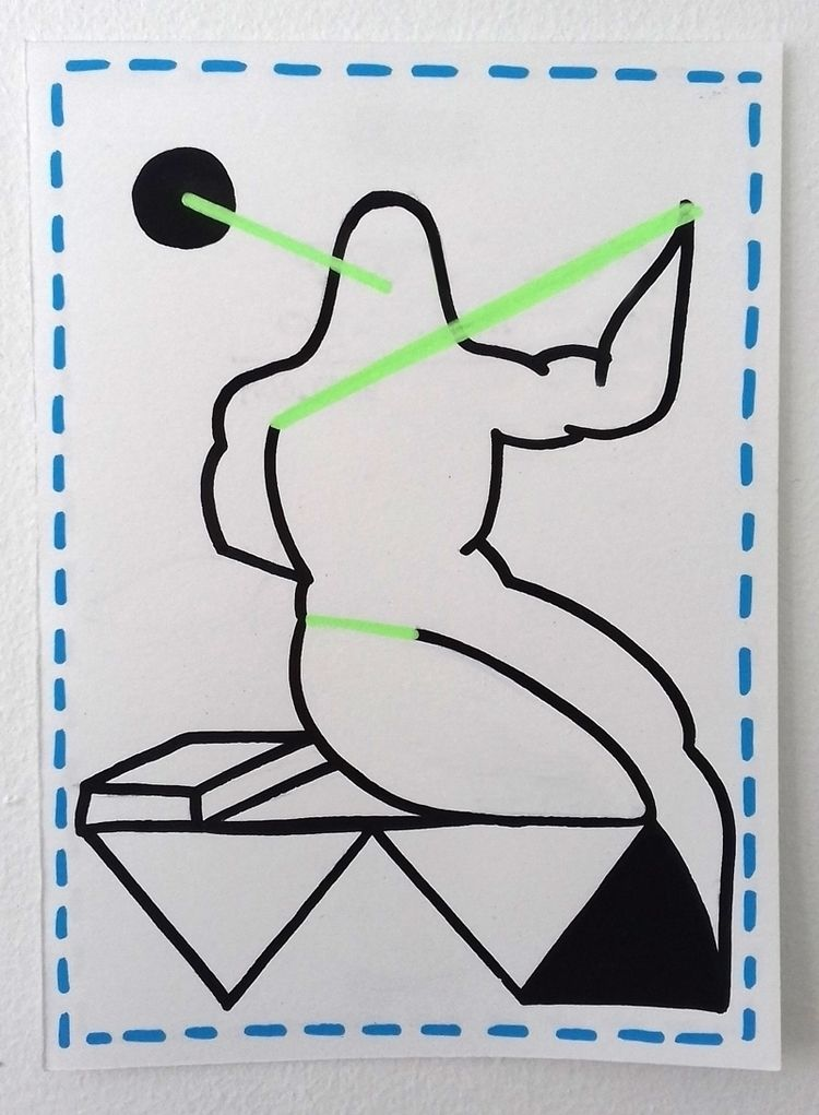 PAPER acrylic marker paper Fabr - moonmambo | ello