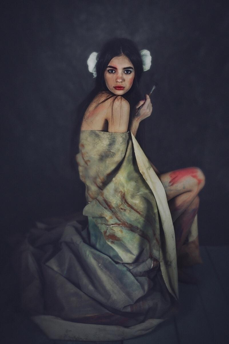 "Artist Muse"" — Photographer: Cr - darkbeautymag | ello"