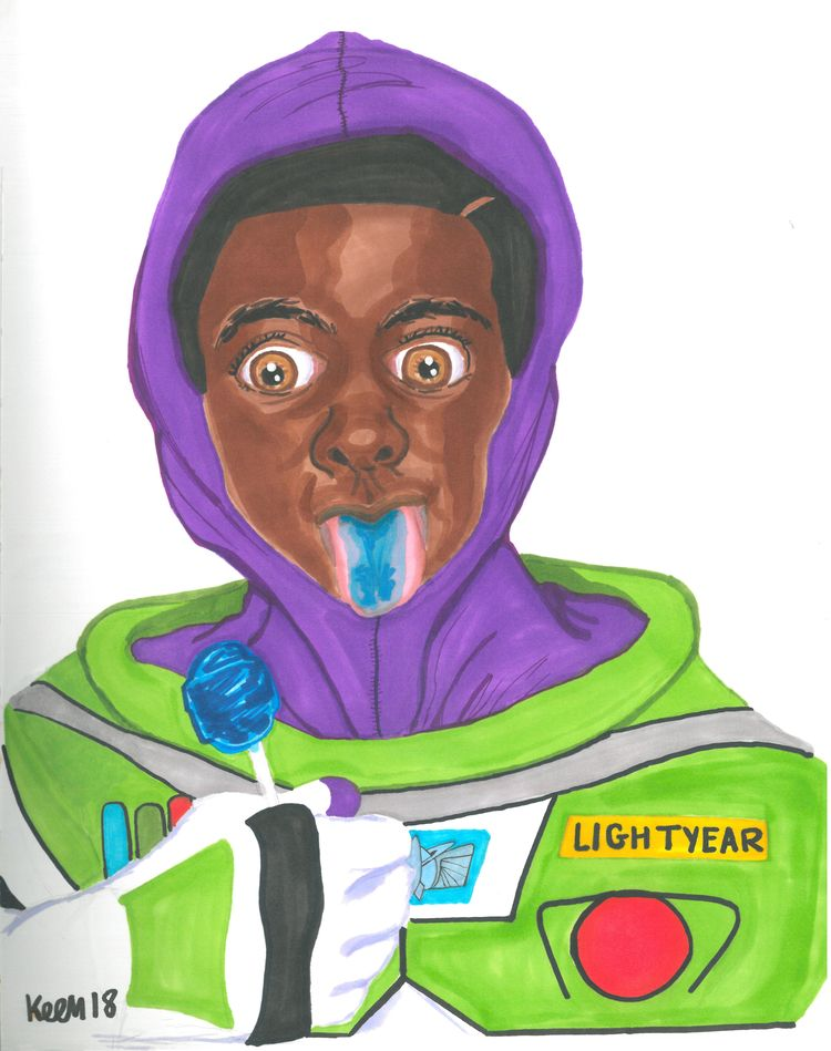 Buzz Lightyear (2018 - inktober - ccmicheau | ello