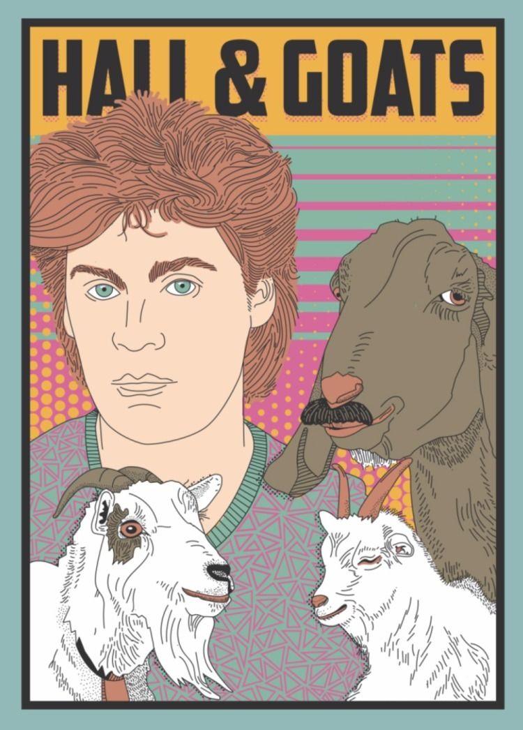 Goats - illustration, goat - maplekeystudio | ello