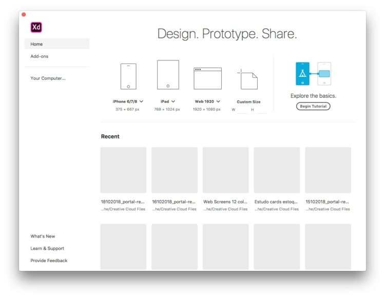 Design. Prototype. Share. Adobe - feliphe | ello