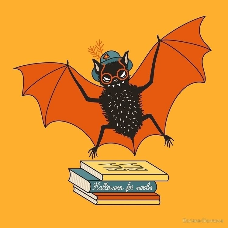 Bat granny loves library. nices - borianag | ello