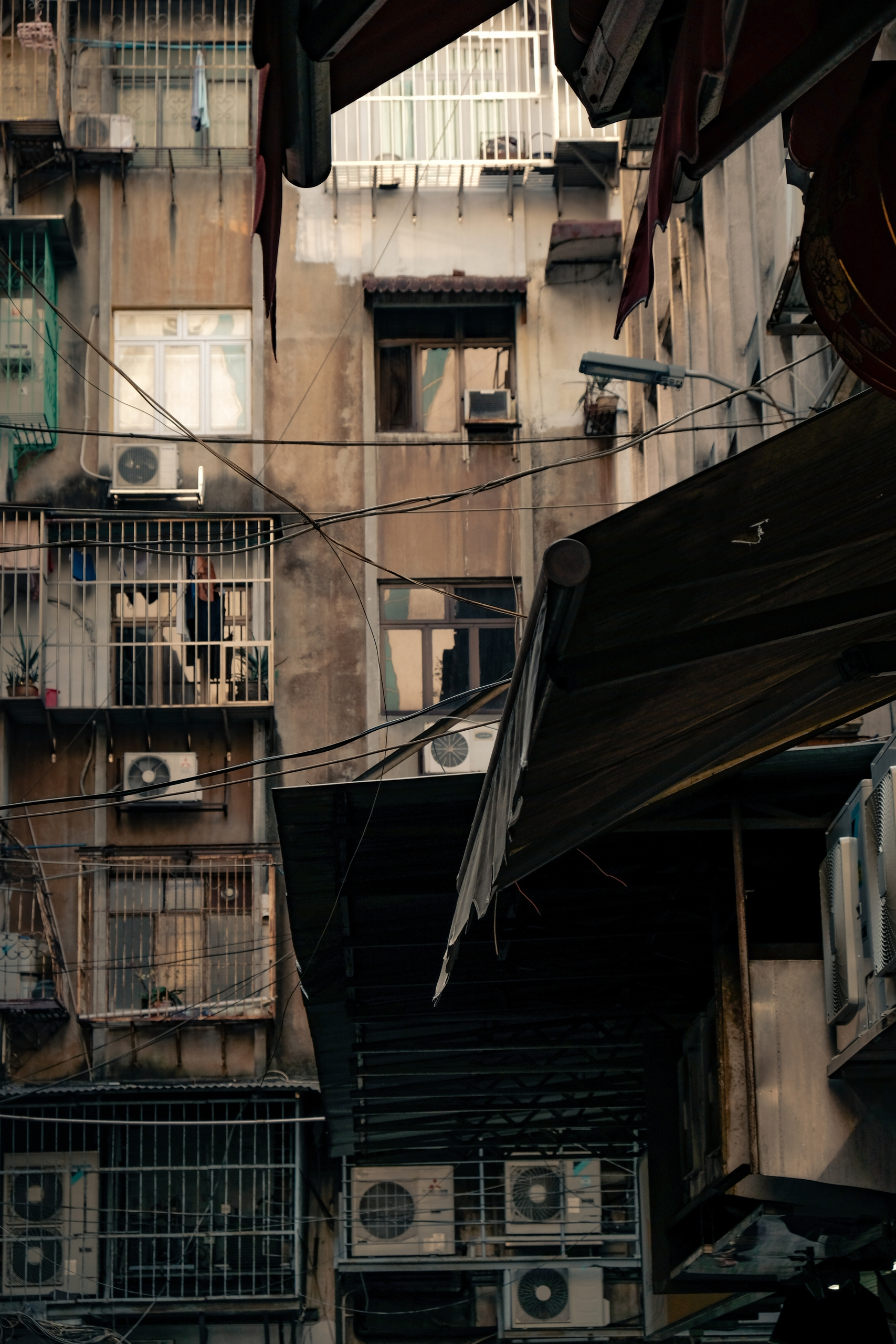 balconies Macau - xseries, streetphotography - kch   ello