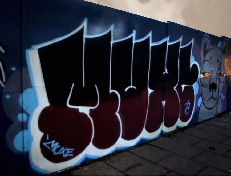 streetart, grafiti, color, muxe - muxeart | ello