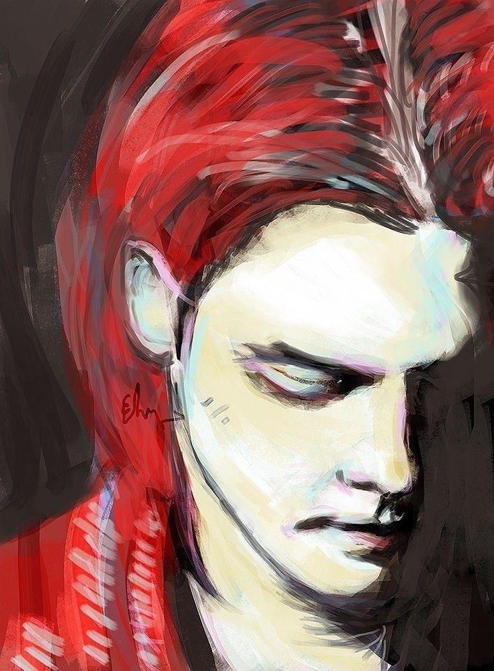shame - art, painting, digitalart - andaelentari | ello