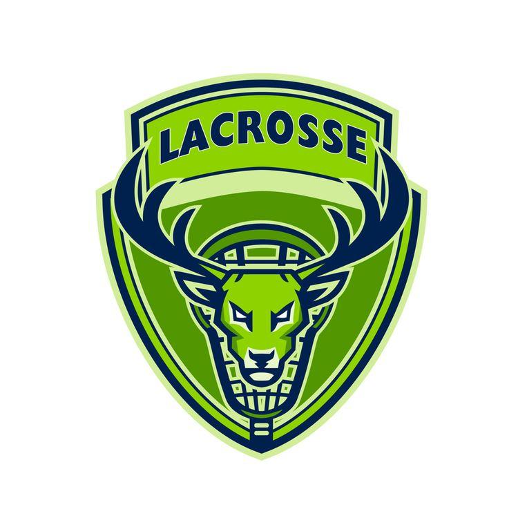 Deer Buck Stag Lacrosse Crest - patrimonio - patrimonio | ello