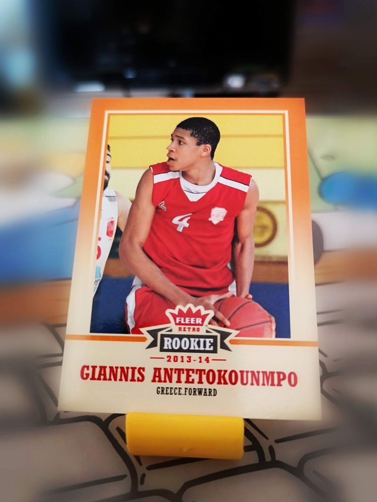 nba, giannis, rc, rookie, basketball - homersimpsoy | ello