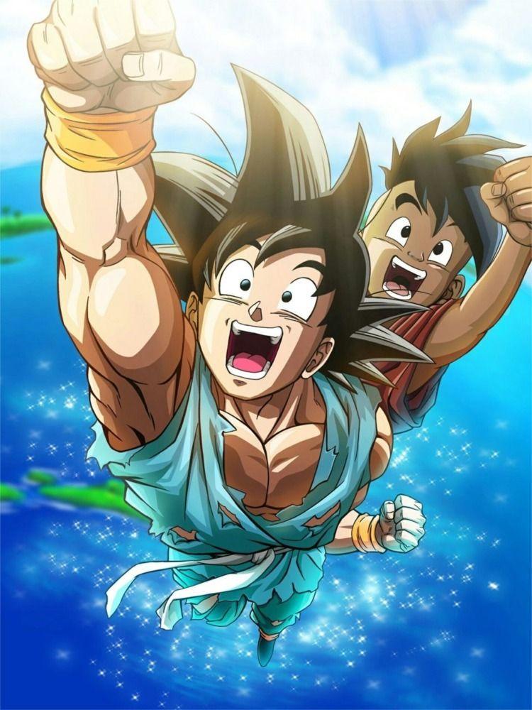 Goku com 12 anos conhece Bulma - hqscomcafe | ello