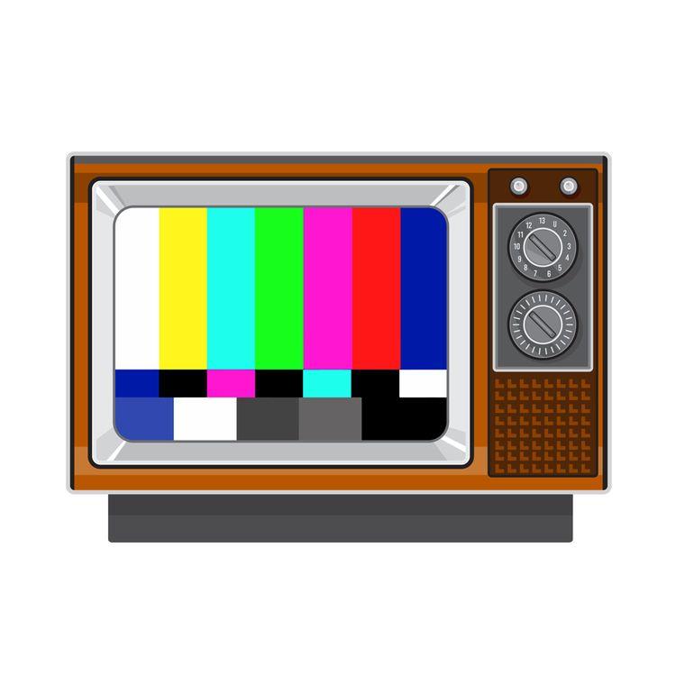 Retro Television Set TV Test Ca - patrimonio   ello