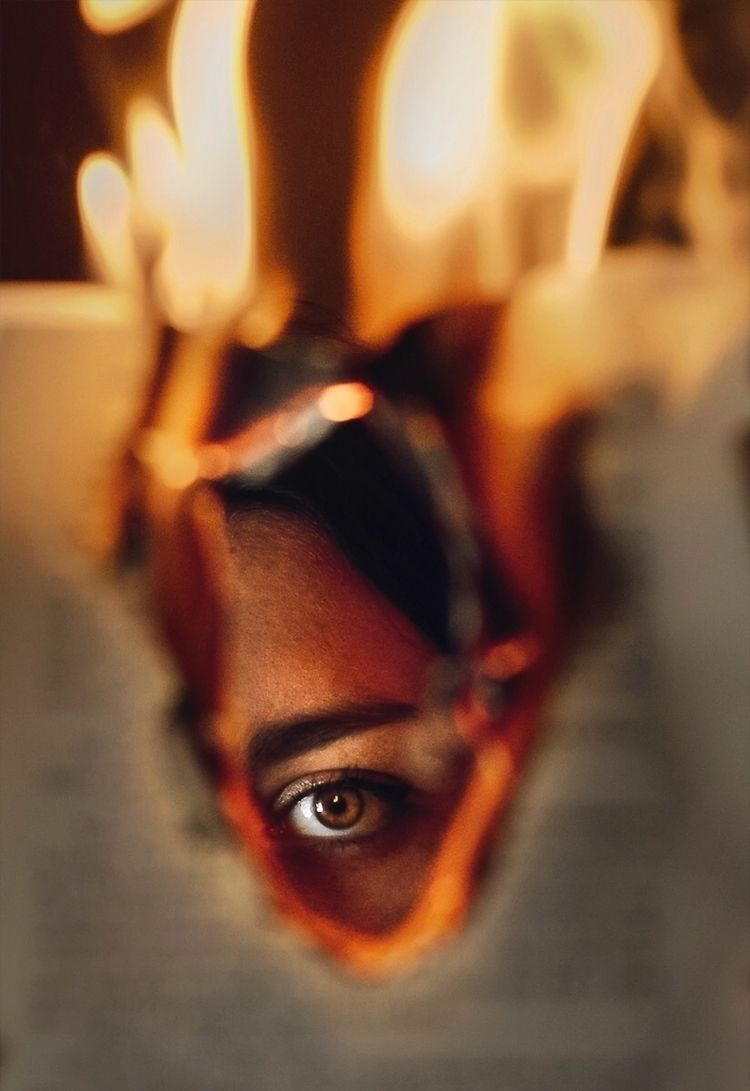 """Embers"" — Photographer: Miriam - darkbeautymag | ello"