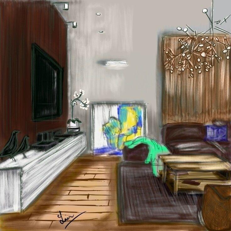 Scandinavian interior style - tneeah | ello
