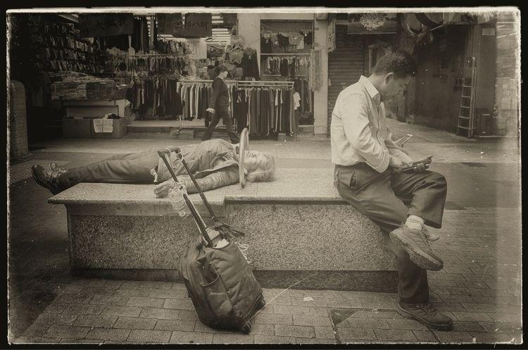 HongKong streets series. Retrov - in_saner | ello