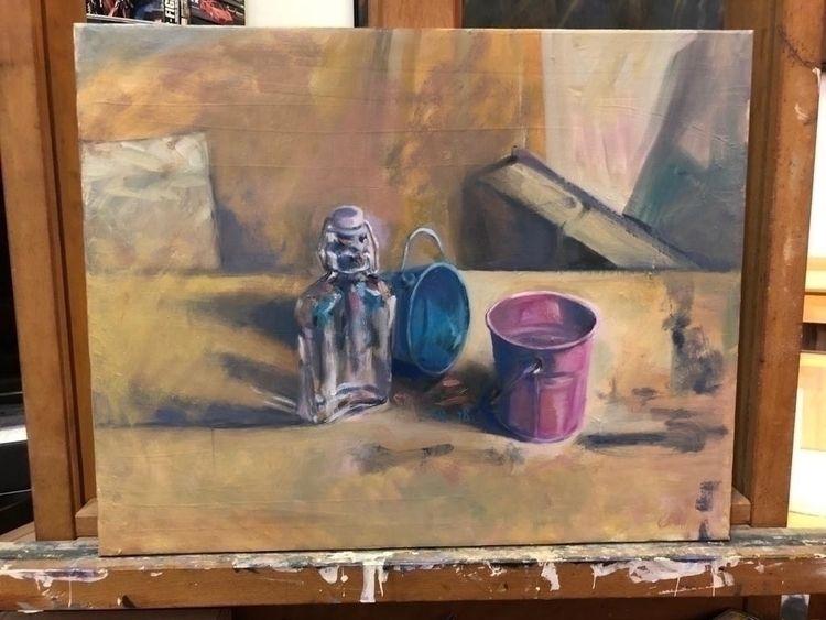 title . /Oil Painting /40cm 50 - awsgallary | ello
