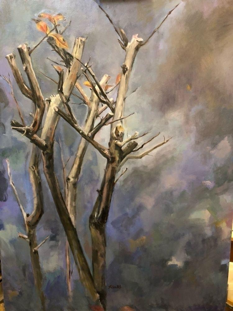 title . /Oil Painting /101.5cm  - awsgallary | ello