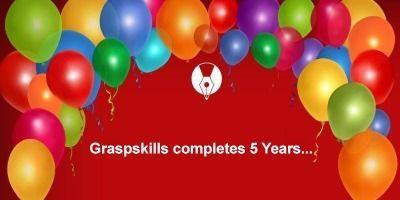 GRASPSKILLS COMPLETES 5 YEARS m - grasp-skills   ello