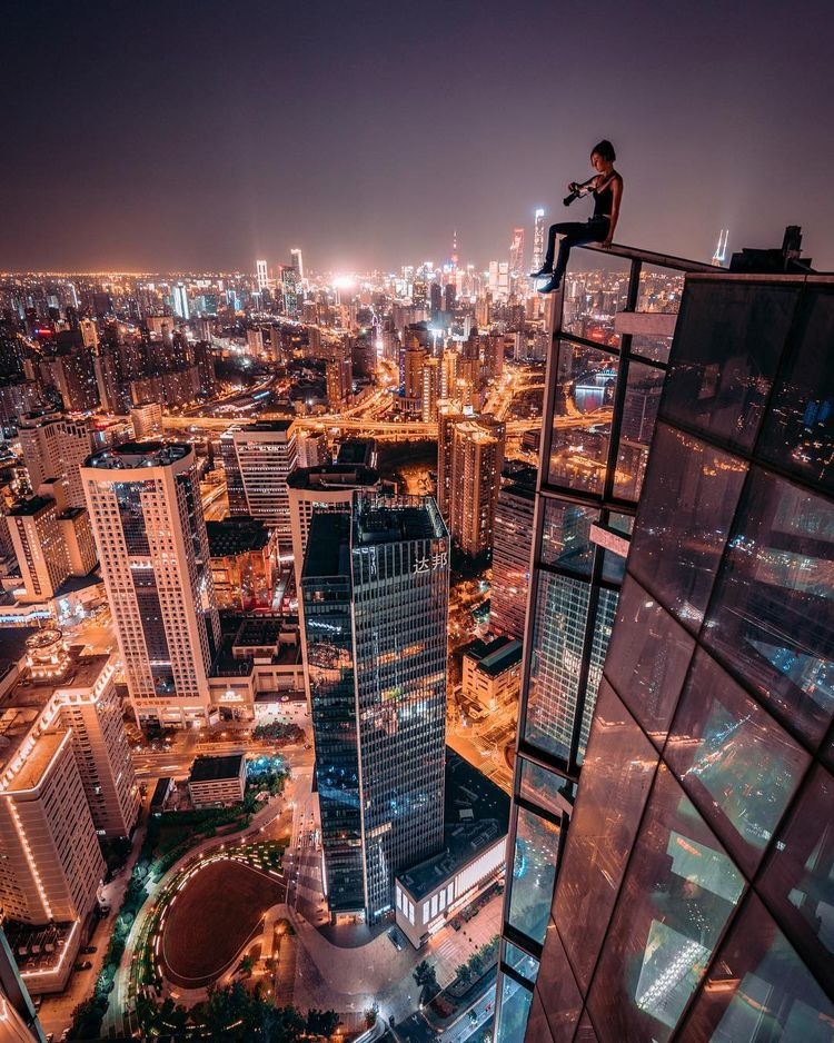 Outstanding Cityscape Rooftop P - photogrist | ello