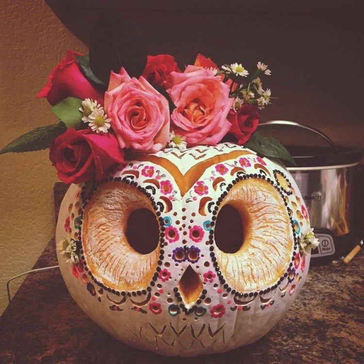 boho, sugarskull, halloween, pumpkins - elloboho | ello