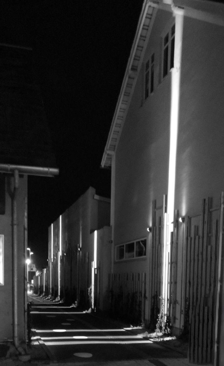 passage, lane, haslev, night - folkogsteder | ello