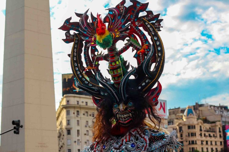 Traje tradicional de carnaval b - dante | ello