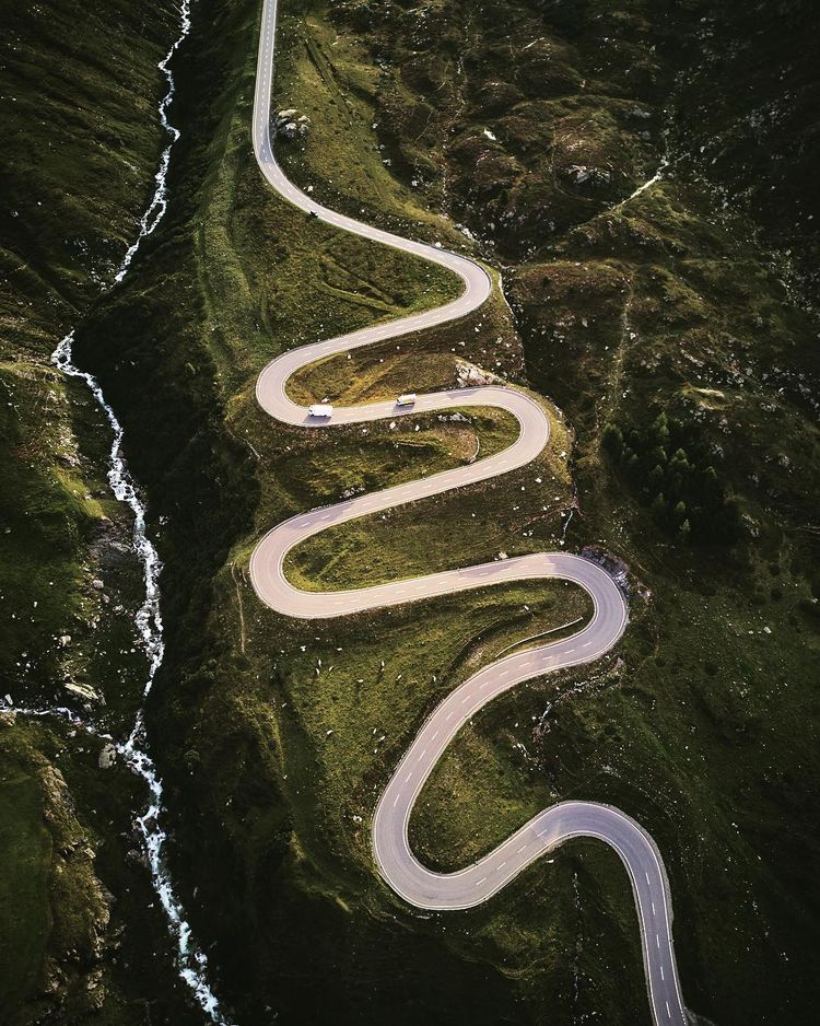 Stunning Drone Photos Roads Fab - photogrist | ello