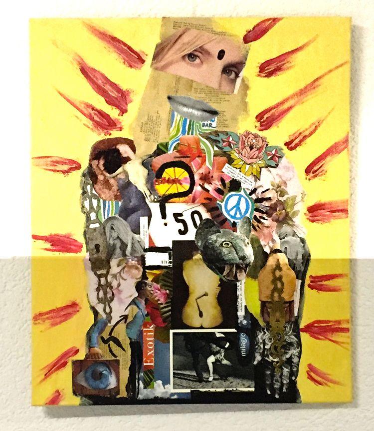 portrait Collage - Mixed Media  - vcoloiera | ello
