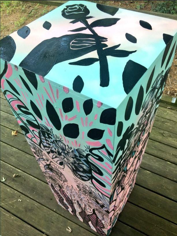 art pedestal created Hillsborou - blflood | ello