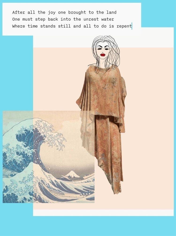 collage based sad situation fem - stevenanggrek | ello