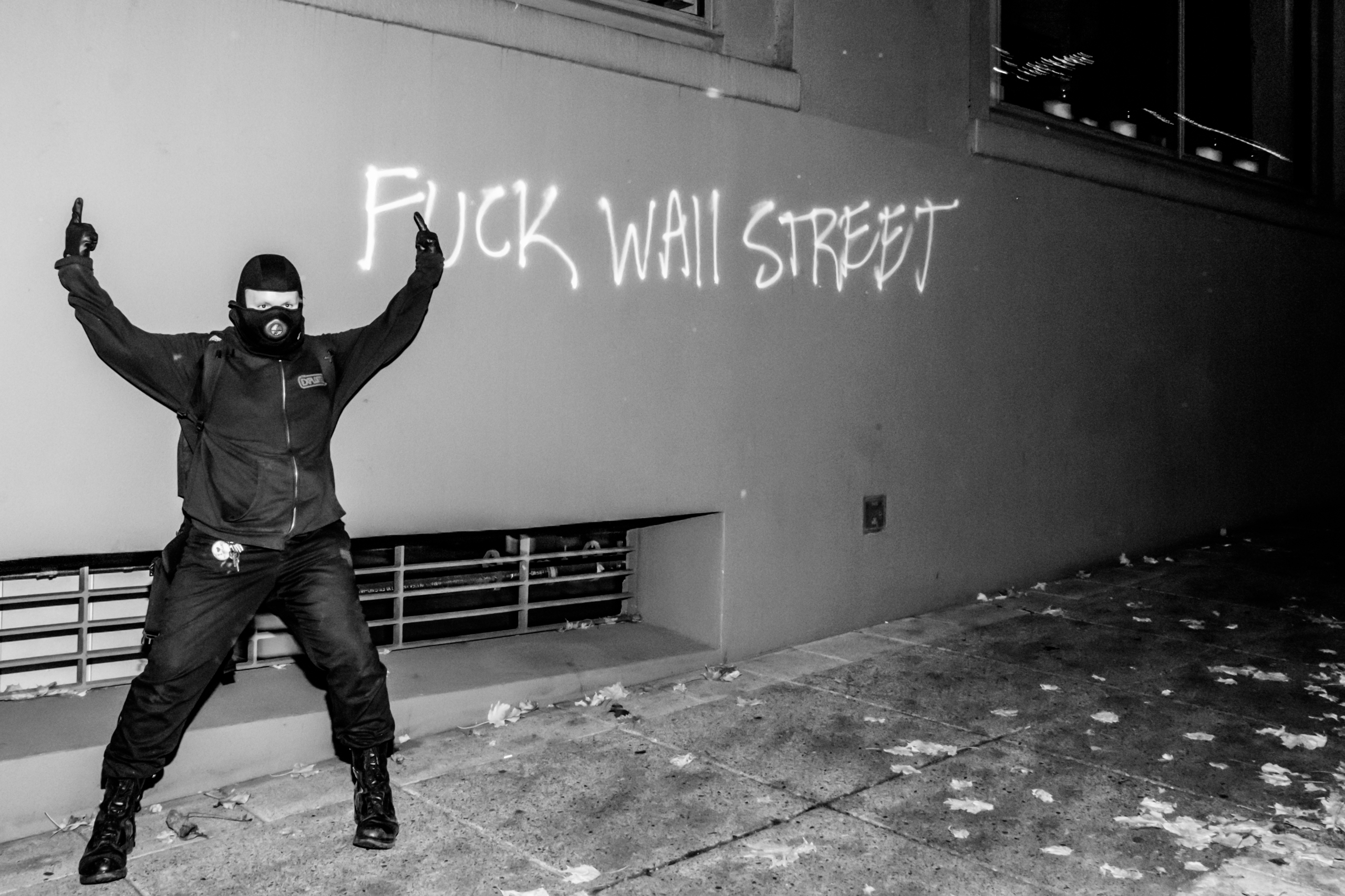 Fuck Wall Street: 11/10/16 day  - picturesofrevolution | ello