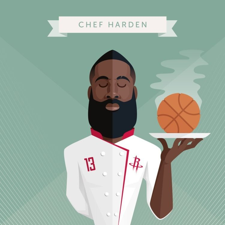 James Harden (Houston Rockets)  - stefrosselli | ello