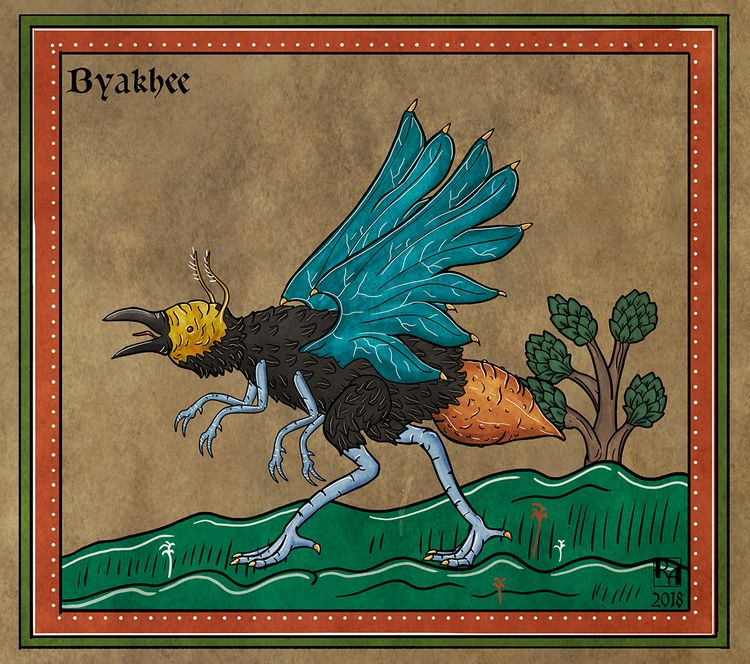Byakhee fictional race interste - robertaltbauer | ello
