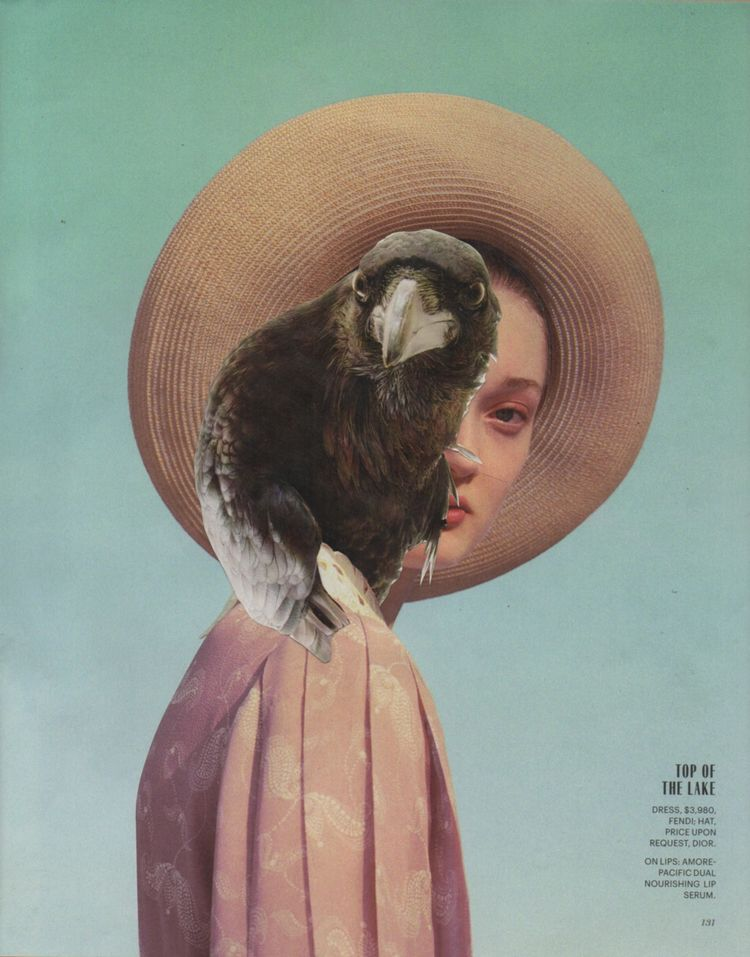Eye View - handmade collage 10 - deborahstevensonartist | ello