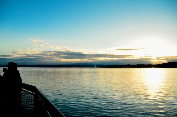 Sunset Ferry - ferryrides, ocean - itskatiewink | ello
