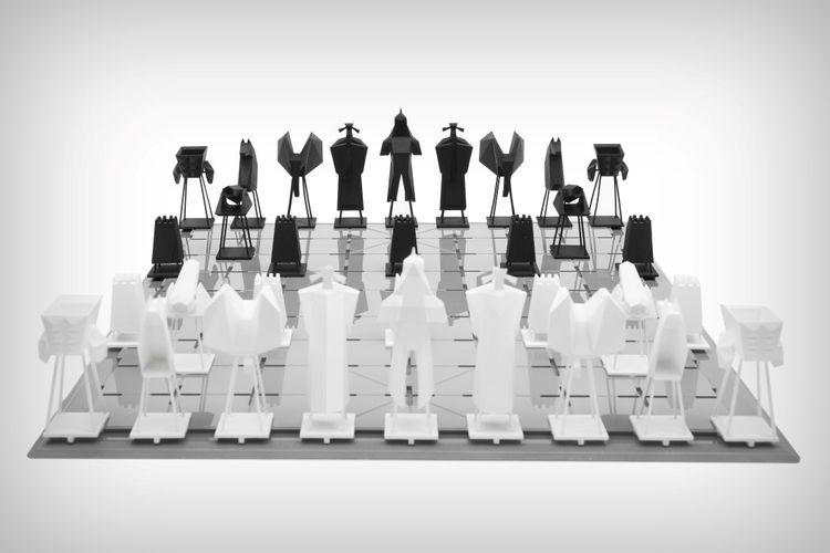 chess set design   Designers: L - ronbeckdesigns   ello