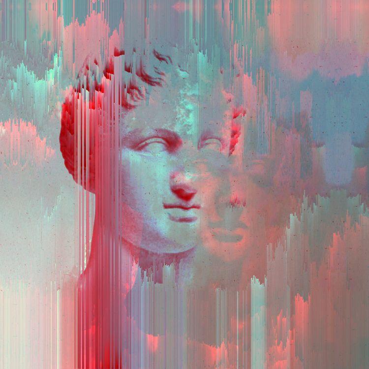 inspired modern artists Glitch  - cafelab | ello